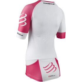 Compressport TR3 Aero Triathlon Top Women White